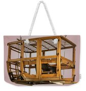 4 Door Vehicle Wood Frame Weekender Tote Bag
