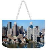 Downtown Boston Skyline Weekender Tote Bag