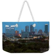 Downtown Fort Worth Texas Weekender Tote Bag