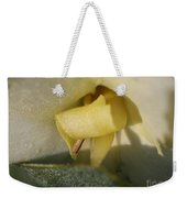 Dwarf Canna Lily Named Ermine Weekender Tote Bag