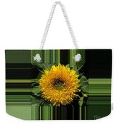 Dwarf Sunflower Named Teddy Bear Weekender Tote Bag