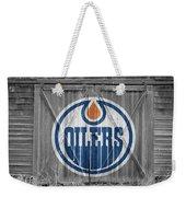 Edmonton Oilers Weekender Tote Bag