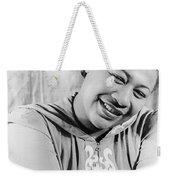Ella Fitzgerald (1917-1996) Weekender Tote Bag