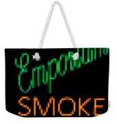 Emporium Smoke Shop Weekender Tote Bag