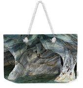 Eroded Marble Shoreline Weekender Tote Bag
