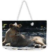 Female Lion Weekender Tote Bag