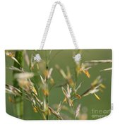 Flowering Brome Grass Weekender Tote Bag