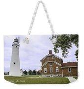 Fort Gratiot Light House Weekender Tote Bag