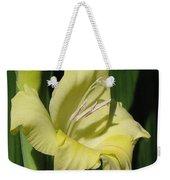 Gladiolus Named Nova Lux Weekender Tote Bag