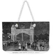 Golden Jubilee, 1887 Weekender Tote Bag