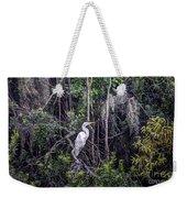 Heron Colors Weekender Tote Bag
