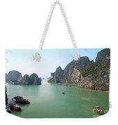 Halong Bay In Vietnam Weekender Tote Bag