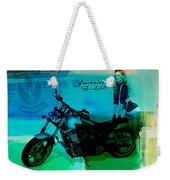 Harley Davidson Ad Weekender Tote Bag