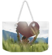 Heart Weekender Tote Bag