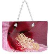Hibiscus Moscheutos Named Luna Pink Swirl Weekender Tote Bag
