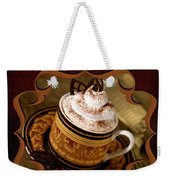 Cappuchino With Choclates Weekender Tote Bag