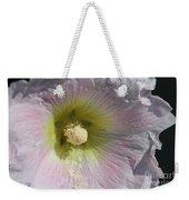 Hollyhock Named Indian Spring Pink Weekender Tote Bag