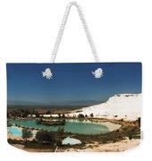 Hot Springs And Travertine Pool Weekender Tote Bag