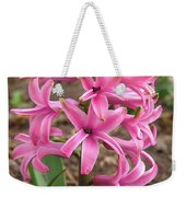 Hyacinth Named Pink Pearl Weekender Tote Bag