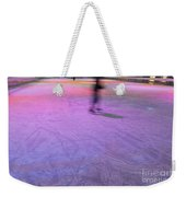 Ice Skating Weekender Tote Bag