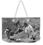 Indians Making Adobe Bricks Weekender Tote Bag