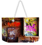 Industrial Detail Weekender Tote Bag