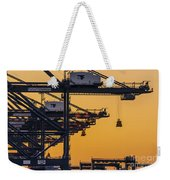Industrial Weekender Tote Bag