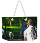 Into The Park Weekender Tote Bag