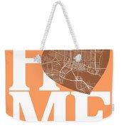 Jacksonville Street Map Home Heart - Jacksonville Florida Road M Weekender Tote Bag
