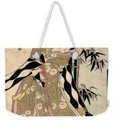 Japan: Tale Of Genji Weekender Tote Bag