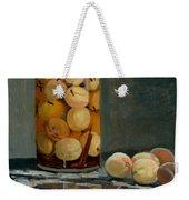 Jar Of Peaches Weekender Tote Bag