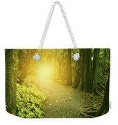 Jungle Light Weekender Tote Bag