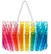 Laboratory Test Tubes In Science Research Lab Weekender Tote Bag