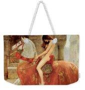 Lady Godiva Weekender Tote Bag