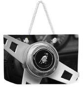 Lamborghini Steering Wheel Emblem Weekender Tote Bag