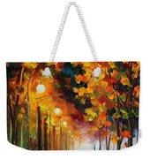 Light Of Autumn Weekender Tote Bag