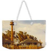 Lighthouse Landscape Weekender Tote Bag