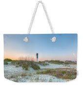 Sullivan's Island Dunes To Lighthouse View Weekender Tote Bag