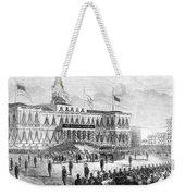 Lincoln's Funeral, 1865 Weekender Tote Bag