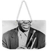 Louis Armstrong (1900-1971) Weekender Tote Bag