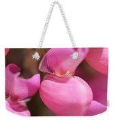 Lupine Named Gallery Pink Weekender Tote Bag