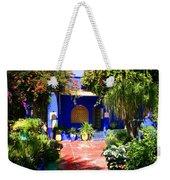 Majorelle Garden Marrakesh Morocco Weekender Tote Bag
