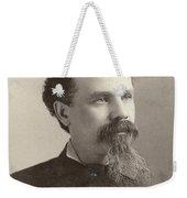 Man, 19th Century Weekender Tote Bag