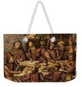 Medieval Accountants, 1466 Weekender Tote Bag