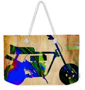 Mini Bike Weekender Tote Bag