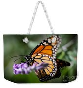 Monarch Danaus Plexippus Weekender Tote Bag