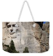 Mount Rushmore Weekender Tote Bag by Frank Romeo