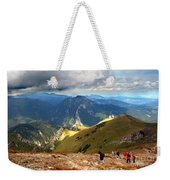 Mountains Stormy Landscape Weekender Tote Bag