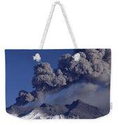 Mt Ruapehu 1996 Eruption New Zealand Weekender Tote Bag