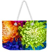 Multicolored Chrysanthemums  Weekender Tote Bag